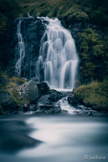 Water Falls by Farrell Scott