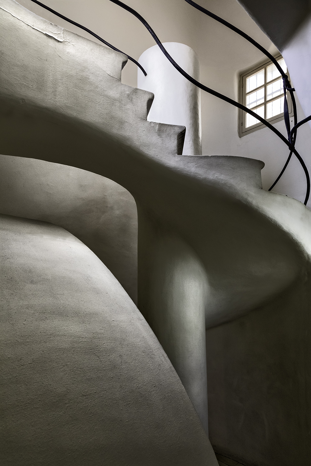 """Black Stairs Casa Batll,"" by John Hennessy"